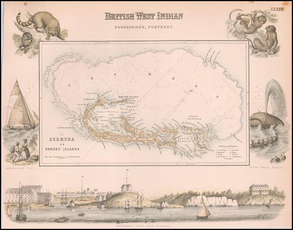 39-Bermuda Map By Archibald Fullarton