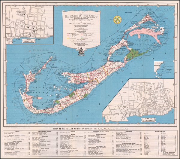 59-Bermuda Map By