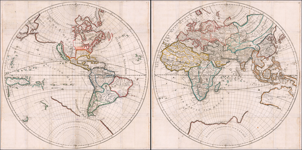 33-World Map By Hans Georg Bodenehr