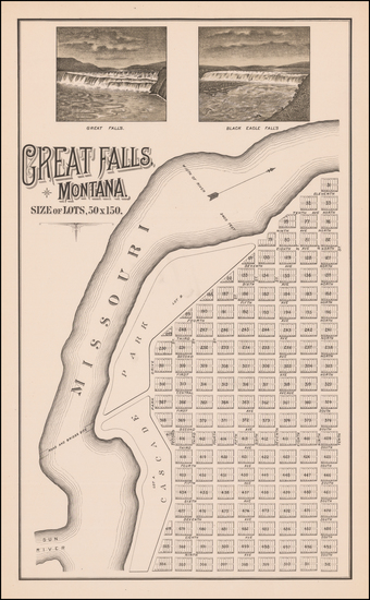 42-Montana Map By Paris Gibson