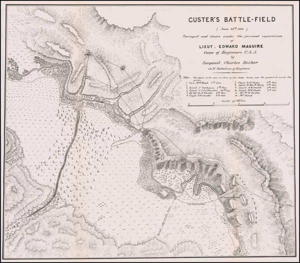 83-Montana and Wyoming Map By U.S. Army Corps of Engineers