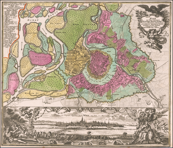 21-Austria Map By Matthaus Seutter