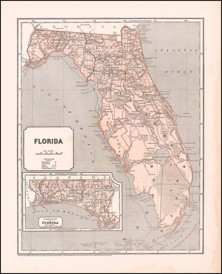 58-Florida Map By Sidney Morse  &  Samuel Breese