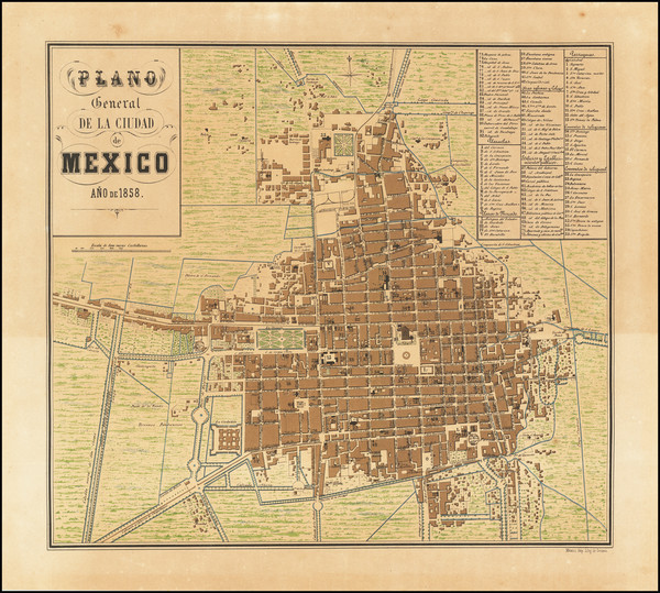 19-Mexico Map By Decaen