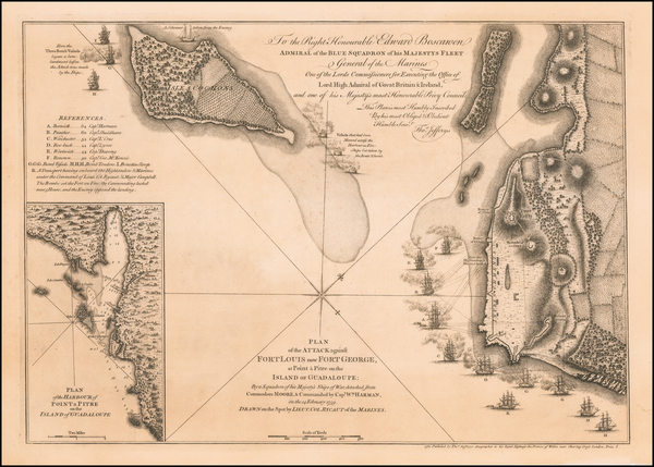 6-Caribbean Map By Thomas Jefferys
