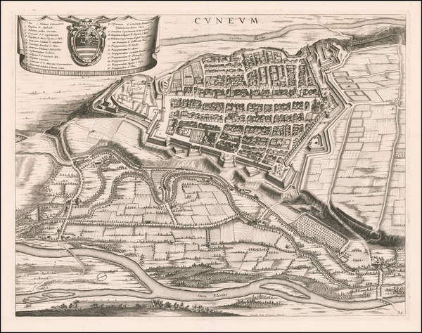 75-Other Italian Cities Map By Johannes et Cornelis Blaeu