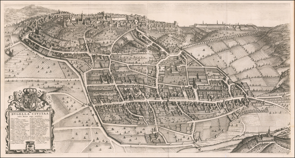 84-Other Italian Cities Map By Johannes et Cornelis Blaeu