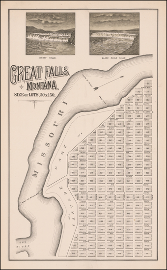 39-Montana Map By Paris Gibson