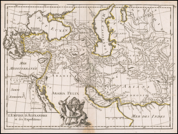 6-Turkey, Central Asia & Caucasus, Persia and Turkey & Asia Minor Map By George Louis Le