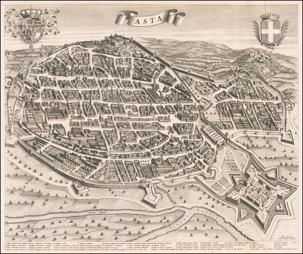 64-Other Italian Cities Map By Johannes et Cornelis Blaeu