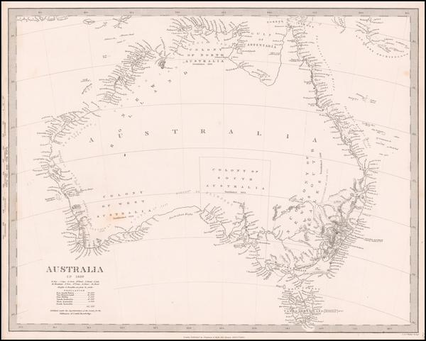 Australia Map By SDUK