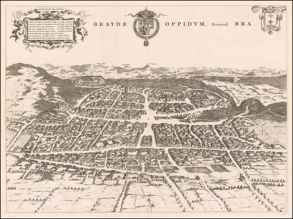 5-Other Italian Cities Map By Johannes et Cornelis Blaeu