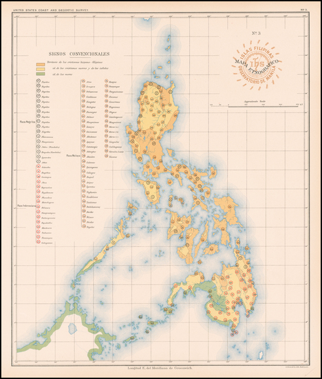 3-Philippines Map By Hoen & Co.