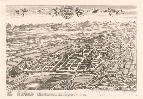 85-Other Italian Cities Map By Johannes et Cornelis Blaeu