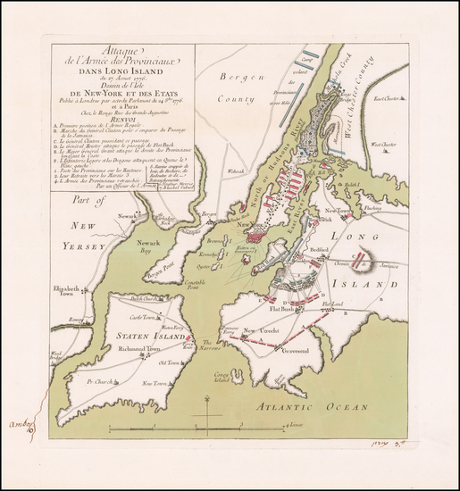 7-New York City, New York State and Mid-Atlantic Map By Georges Louis Le Rouge