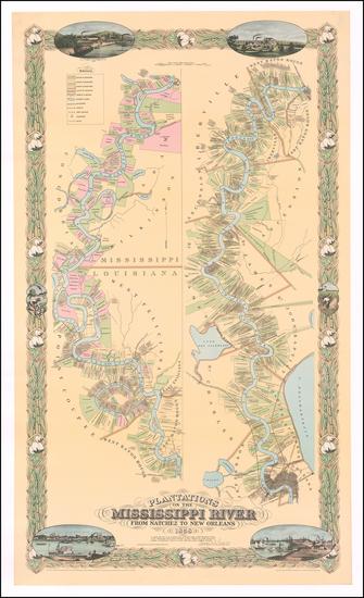 88-South and Louisiana Map By Joseph Aiena