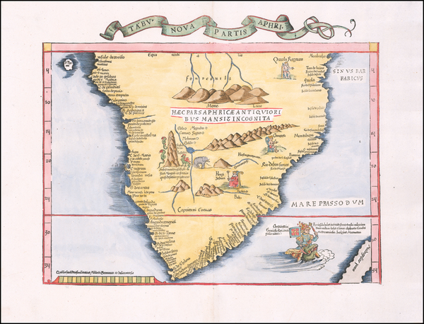 95-South Africa Map By Lorenz Fries