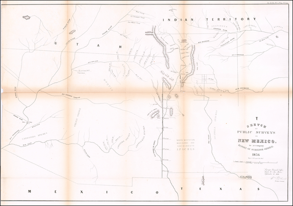 41-Southwest, Arizona, Colorado, Utah, New Mexico, Colorado, Utah and Wyoming Map By U.S. State Su