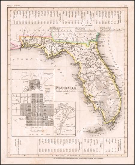 69-Florida Map By Joseph Meyer