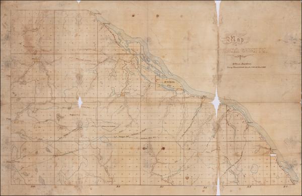 21-Minnesota Map By William Davidson