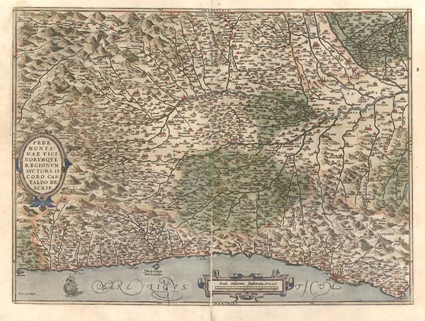 16-Europe and Italy Map By Abraham Ortelius