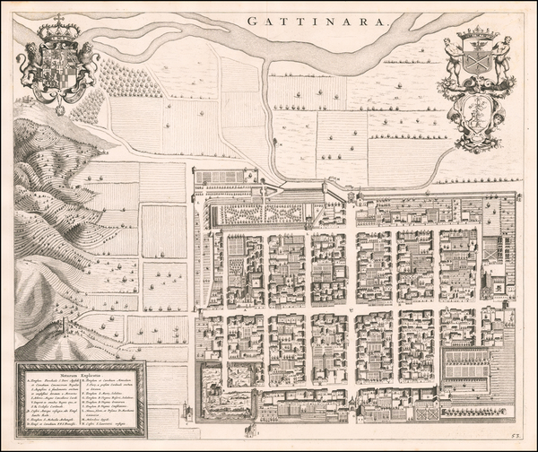 34-Other Italian Cities Map By Johannes et Cornelis Blaeu