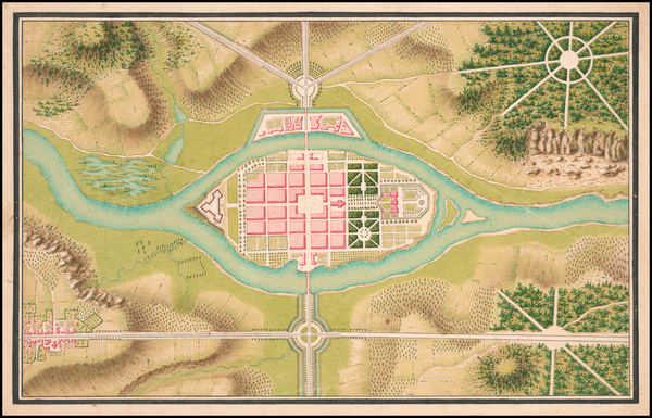 Curiosities Map By De Lancelles