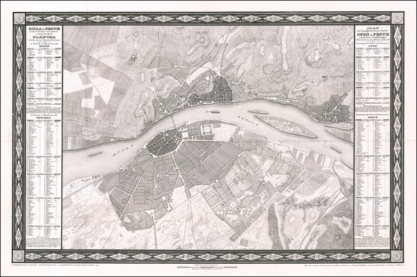 78-Hungary Map By Jozsef Csintalan