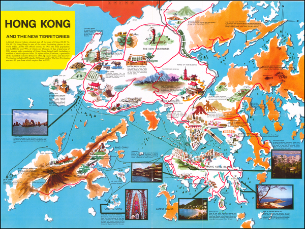 6-Hong Kong Map By Hong Kong Tourist Association