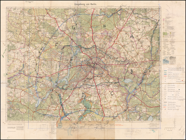 75-Germany and World War II Map By Reichsamt für Landesaufnahme