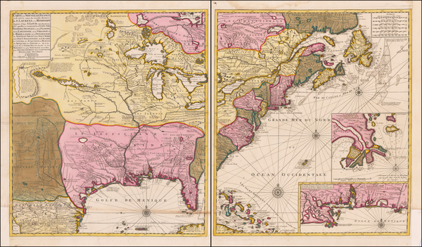 14-United States, New England, Southeast, Midwest and Plains Map By Gerard Van Keulen