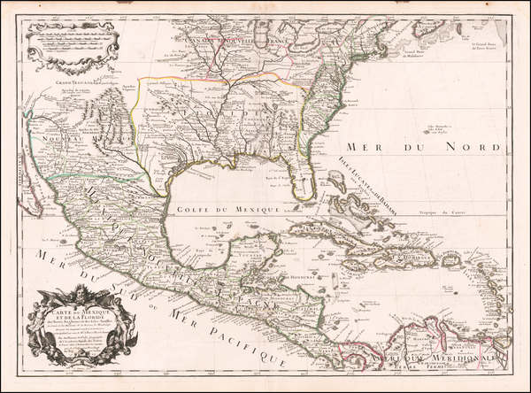 47-United States, South, Southeast, Texas, Midwest, Southwest and Rocky Mountains Map By Guillaume