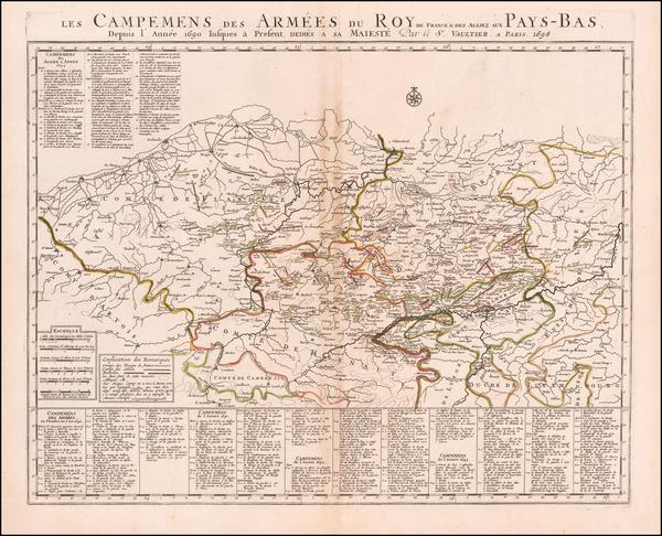 73-Belgium Map By Vaultier
