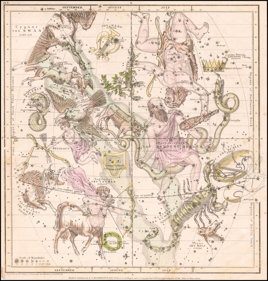 72-Celestial Maps Map By Elijah J. Burritt
