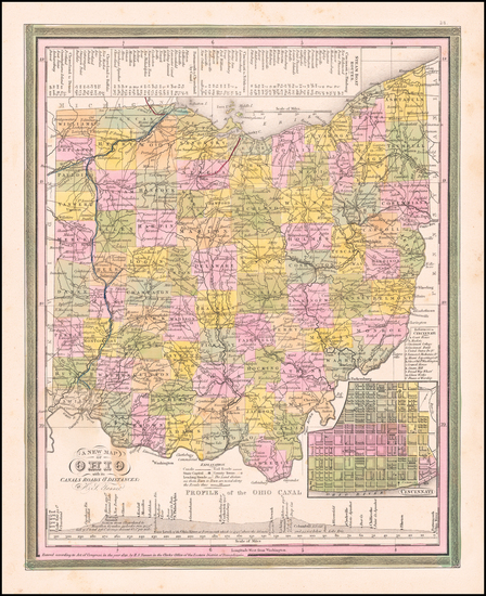 52-Ohio Map By Henry Schenk Tanner