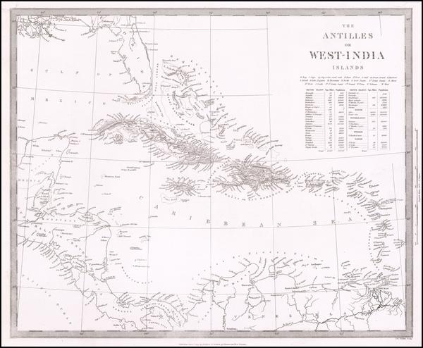 61-Caribbean Map By SDUK