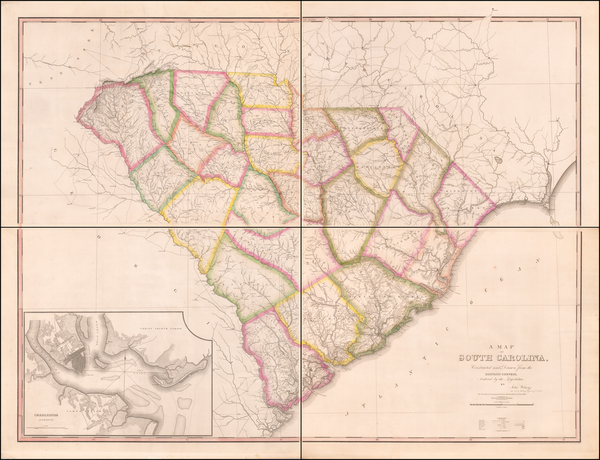 5-Southeast and South Carolina Map By John Wilson