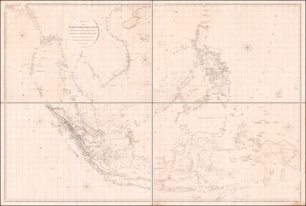 90-China, Southeast Asia, Philippines and Other Islands Map By Aaron Arrowsmith