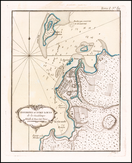 59-Other Islands Map By Jacques Nicolas Bellin
