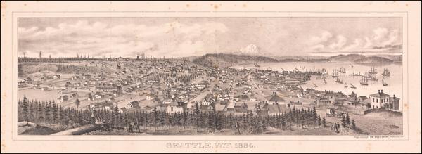 26-Washington Map By A. Burr