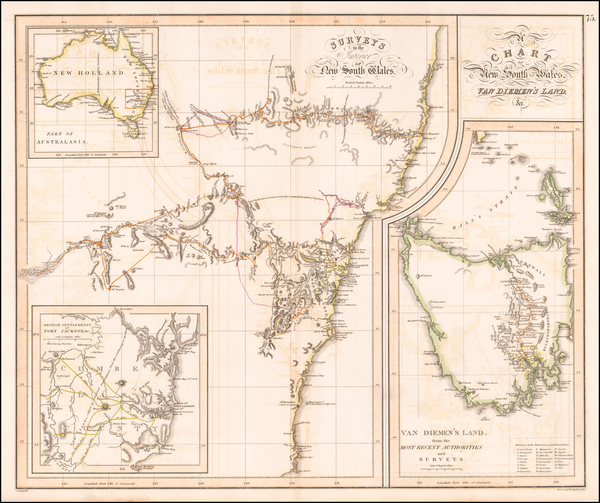 55-Australia Map By John Thomson