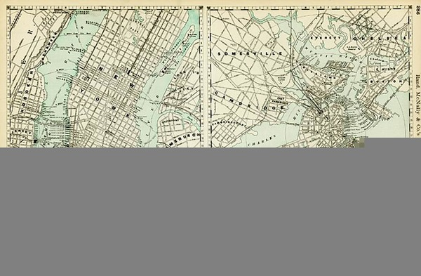 4-New England, Midwest and Canada Map By Pieter van der Aa