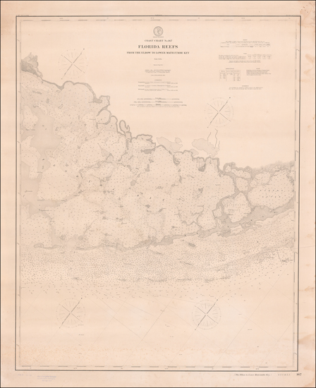 51-Florida Map By United States Coast Survey