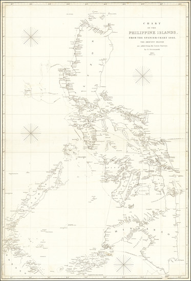 56-Philippines Map By Aaron Arrowsmith