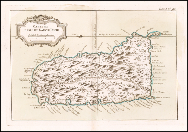 22-Other Islands Map By Jacques Nicolas Bellin