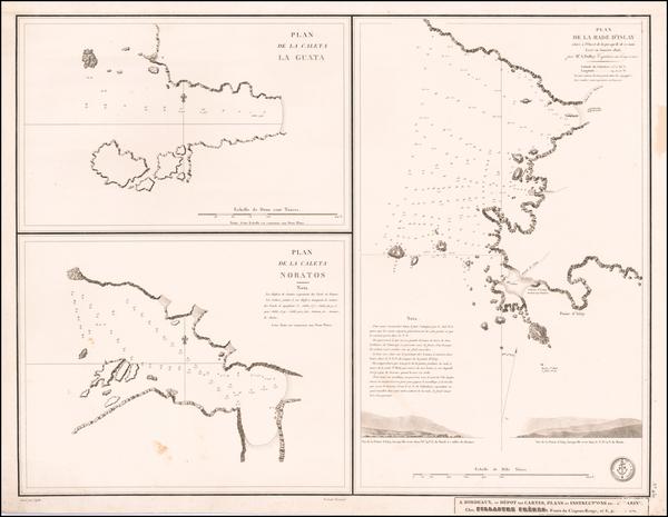 69-Peru & Ecuador Map By Depot de la Marine