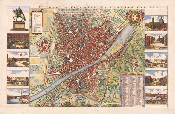 37- Map By Wenceslaus Hollar