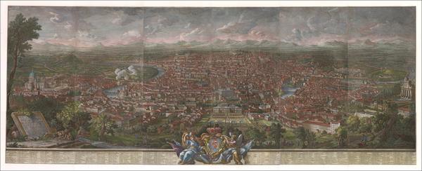 6-Rome Map By Giuseppe Vasi