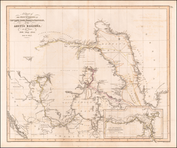 86-Polar Maps and Canada Map By John Thomson