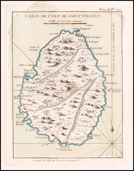 9-Other Islands Map By Jacques Nicolas Bellin